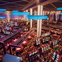 Отель Planet Hollywood Resort & Casino 4* Семейный номер Делюкс с двуспальной кроватью фото 2