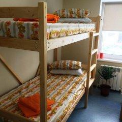 Хостел CENTRE Кровать в общем номере двухъярусные кровати фото 16