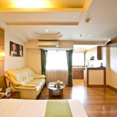 Golden Sea Pattaya Hotel 3* Улучшенный номер с двуспальной кроватью фото 5