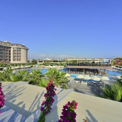 Sunmelia Beach Resort Hotel & Spa - All Inclusive пляж фото 2