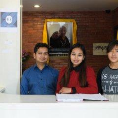 Отель Dondrub Guest House Непал, Катманду - отзывы, цены и фото номеров - забронировать отель Dondrub Guest House онлайн интерьер отеля