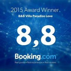 Отель B&B Villa Paradiso Love Леньяно с домашними животными