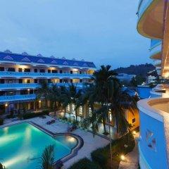 Отель Blue Carina Inn Hotel Таиланд, Пхукет - отзывы, цены и фото номеров - забронировать отель Blue Carina Inn Hotel онлайн балкон