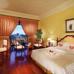 Hotel Saigon Morin 4* Номер Делюкс с различными типами кроватей фото 10