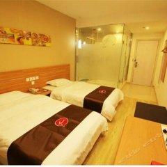 Thank You Hotel Guilin Railway Station 2* Номер Делюкс с 2 отдельными кроватями фото 5