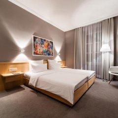 Design Hotel Stadt Rosenheim 3* Номер Комфорт двуспальная кровать фото 10