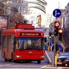 Отель Dominic Smart & Luxury Suites Terazije городской автобус