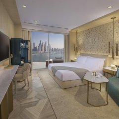 Отель Five Palm Jumeirah Dubai Номер Luxe с различными типами кроватей фото 3