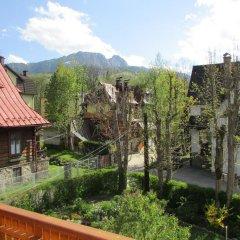 Отель Willa Dewajtis балкон