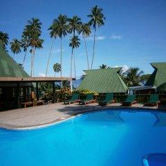 Отель Daku Resort Savusavu бассейн