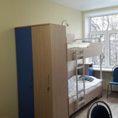 Хостел Останкино Номер Эконом с разными типами кроватей (общая ванная комната) фото 18