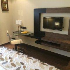 Hotel Vrisa 4* Номер Делюкс с различными типами кроватей фото 2