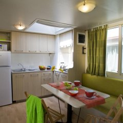 Отель Camping Village Roma Шале с различными типами кроватей фото 2