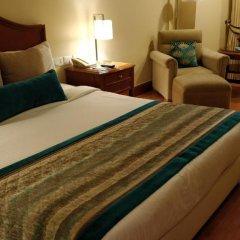 Отель Jaypee Vasant Continental 5* Номер Делюкс с различными типами кроватей фото 8