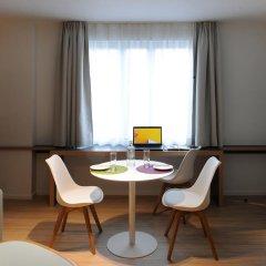 Отель Residence La Source Quartier Louise 3* Студия с различными типами кроватей фото 10