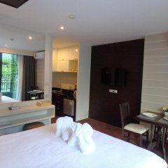 Отель Baan Bangsaray Condo Банг-Саре удобства в номере