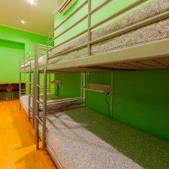 Отель Жилое помещение Bear на Смоленской Кровать в общем номере фото 5