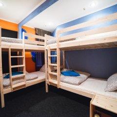 Art Hostel Contrast Кровать в общем номере с двухъярусной кроватью фото 3
