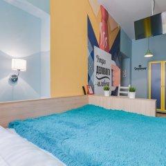 Гостиница Жилое помещение Современник Номер с общей ванной комнатой с различными типами кроватей (общая ванная комната) фото 6