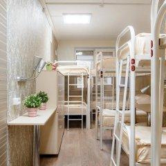 Хостел Успенский Двор Кровать в мужском общем номере с двухъярусной кроватью фото 2