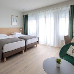 Отель Suisse 3* Улучшенный номер с различными типами кроватей фото 3