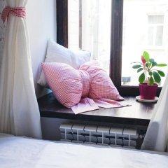 Тайга Хостел Стандартный семейный номер с двуспальной кроватью (общая ванная комната) фото 5