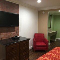 Отель American Inn & Suites LAX Airport 2* Стандартный номер с различными типами кроватей фото 3