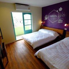 Хостел Siri Poshtel Bangkok Номер Делюкс с различными типами кроватей фото 14