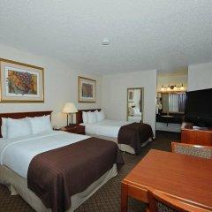 Отель Clarion Inn I-10 East at Beltway 3* Стандартный номер с различными типами кроватей