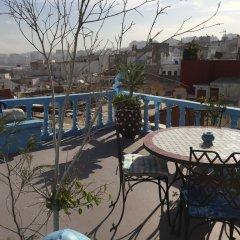 Отель Dar Bargach Марокко, Танжер - отзывы, цены и фото номеров - забронировать отель Dar Bargach онлайн балкон