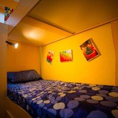 Хостел Гуд Лак Кровать в общем номере фото 8