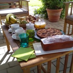 Отель Casetta Vacanza in Campagna Кутрофьяно питание