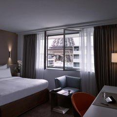 Отель Pullman Paris Tour Eiffel 4* Улучшенный номер разные типы кроватей фото 2
