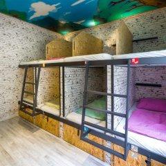 Chillout Hostel Zagreb Кровать в общем номере с двухъярусной кроватью фото 9