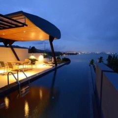 Отель AQUA Villas Rawai 4* Стандартный номер с разными типами кроватей фото 17