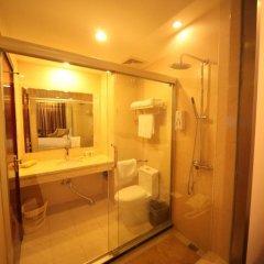 GreenTree Inn Jiangxi Jiujiang Shili Avenue Business Hotel 2* Стандартный номер с различными типами кроватей фото 5