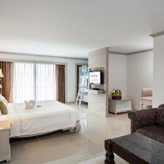 Отель Novotel Phuket Resort 4* Семейный номер Делюкс с двуспальной кроватью