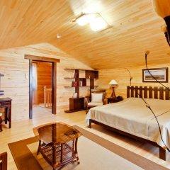 Гостиница Золотая бухта Бунгало с различными типами кроватей фото 6