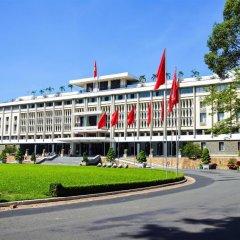 N.Y Kim Phuong Hotel 2* Улучшенный номер с 2 отдельными кроватями фото 7