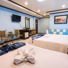 Отель The Grand Orchid Inn 2* Семейный номер Делюкс разные типы кроватей фото 5
