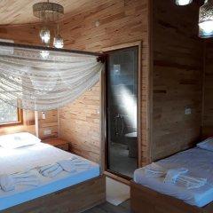 Отель Cirali Flora Pension 3* Стандартный семейный номер с двуспальной кроватью фото 21