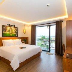 Отель Riverside Impression Homestay Villa 3* Номер Делюкс с различными типами кроватей фото 3