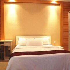 Апартаменты She & He Service Apartment - Huifeng Номер Делюкс с различными типами кроватей фото 8