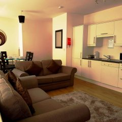 Апартаменты City Stop Manchester Apartments комната для гостей фото 2