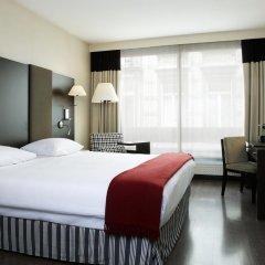 Отель NH Brussels Stéphanie 4* Стандартный номер с разными типами кроватей