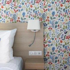 Отель Hôtel Du Centre 2* Стандартный номер с различными типами кроватей фото 3
