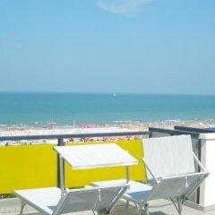 Hotel Mimosa Риччоне пляж фото 2