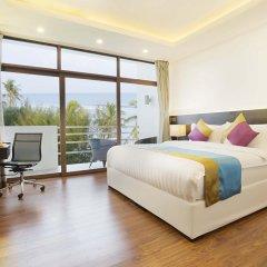 Отель Plumeria Maldives 4* Номер Делюкс с различными типами кроватей фото 9