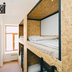 Гостиница SolHostel Кровать в общем номере с двухъярусной кроватью