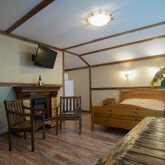 Гостиница Теремок Заволжский Апартаменты разные типы кроватей фото 40
